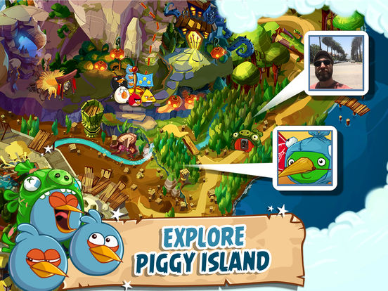Angry Birds Epic RPG Screenshots