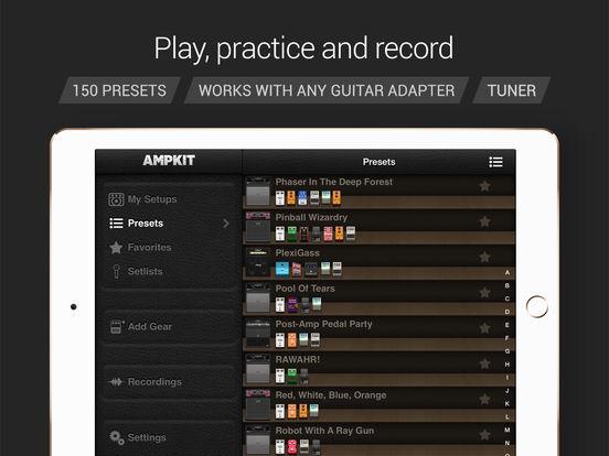 AmpKit+ iPad Screenshot 2