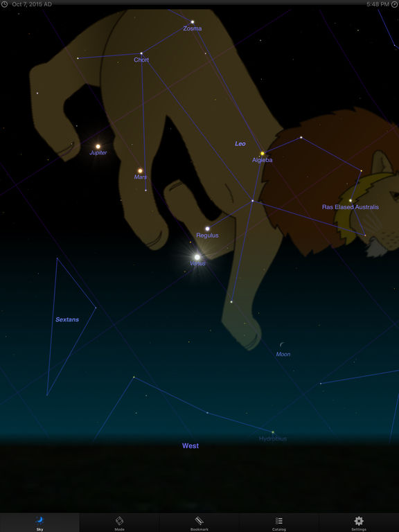 StarMap 3D+: Guide to the Night Sky and Astronomy screenshot