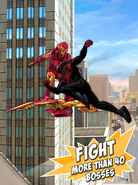 Spider-Man Unlimited Screenshots