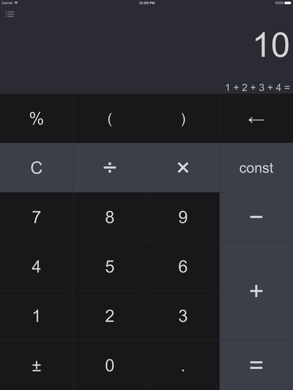 Screenshot #1 for Spark Pro - Smart Calculator and Unit Converter
