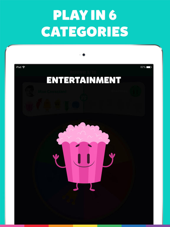 Screenshots of Trivia Crack for iPad