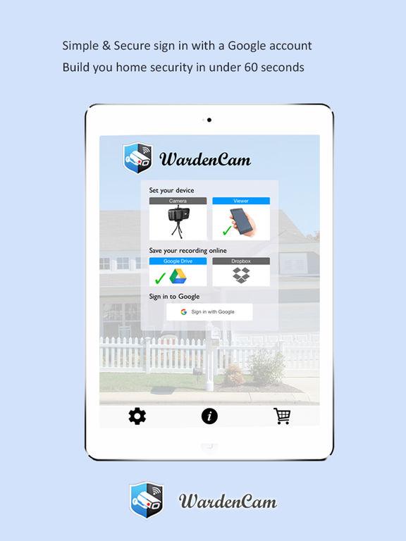 Home Security Video Surveillance WardenCam screenshot