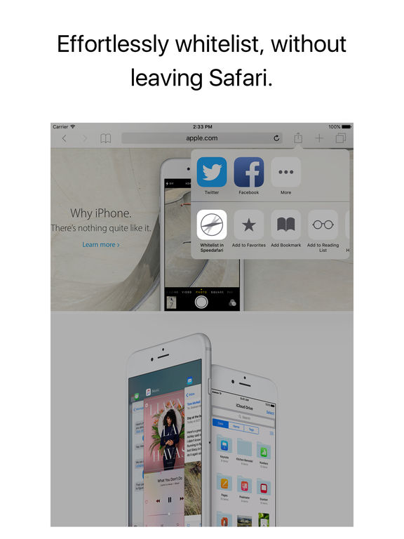 Speedafari – Speed Up Safari on Slow Connections Screenshot