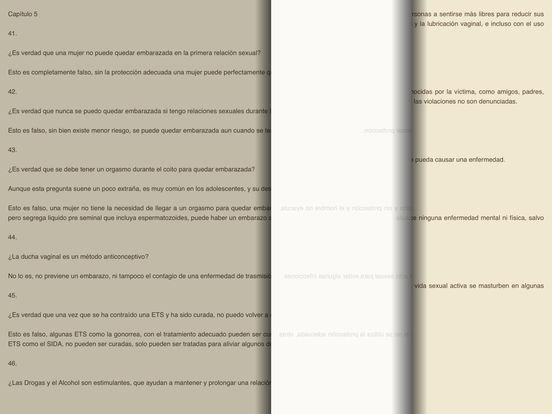 Preguntas y Respuestas sobre Sexualidad - AudioEbook iPad Screenshot 2