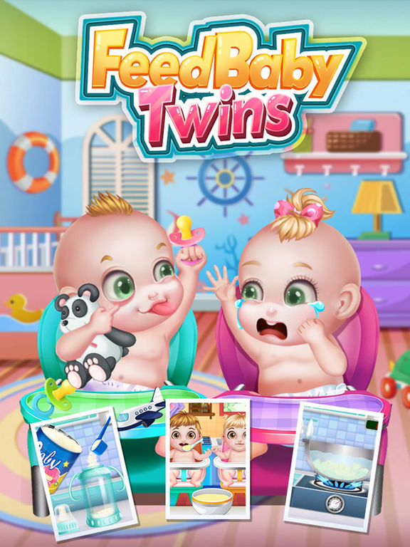 Feed Baby Twins - Baby Care & Terrible Twoscreeshot 1