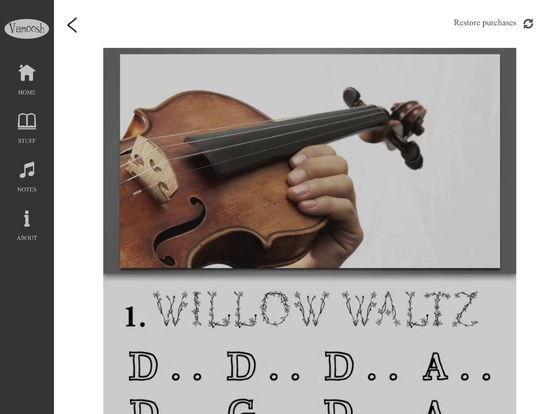 Vamoosh Violin 1 screenshot