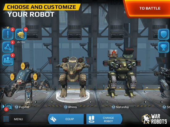 Walking War Robots screenshot