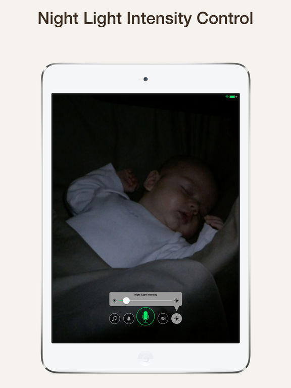 Cloud Baby Monitor ~ Unlimited Range Video Baby Monitor (Wi-Fi, 3G, LTE, Bluetooth) screenshot