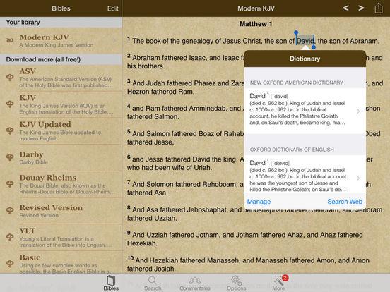 World Bibles iPad Screenshot 1