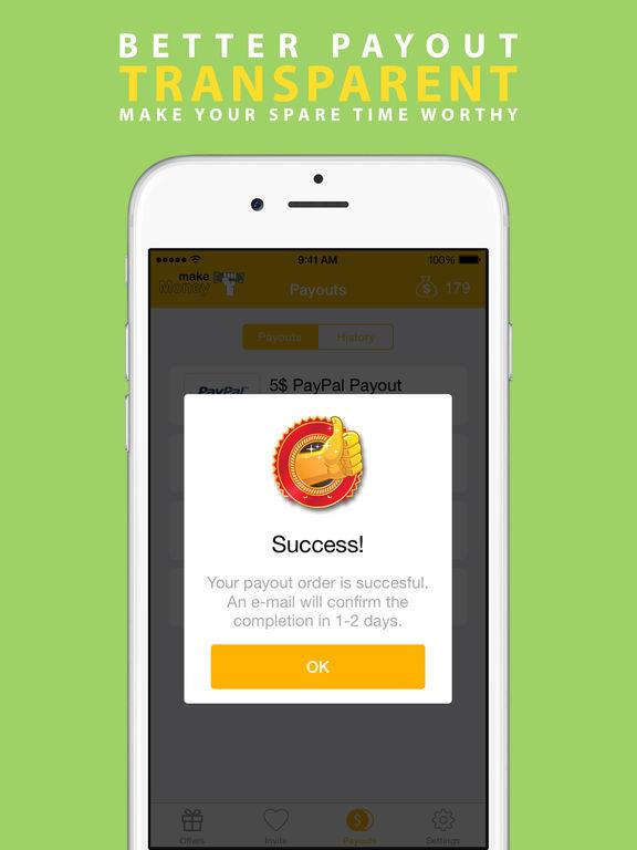 Screenshots of Make Money - Earn Free Cash for iPad