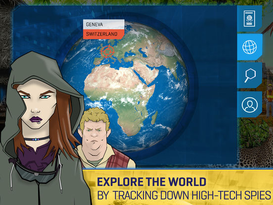 Carmen Sandiego Returns-A Global Spy Game for Kids Screenshots