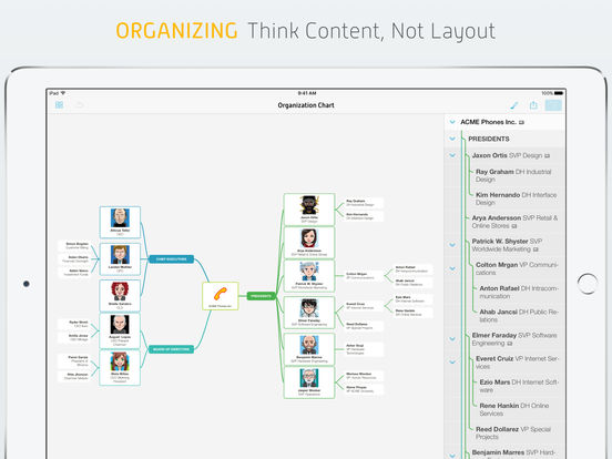 MindNode – Delightful Mind Mapping Screenshots