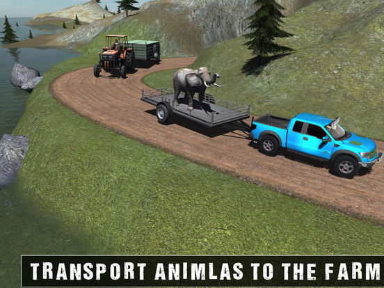 Off Road Animal Transporter 4x4 для iPad
