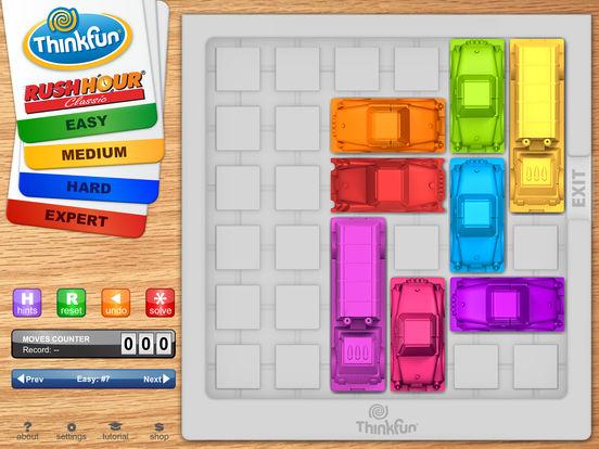 Rush Hour iPad Screenshot 1