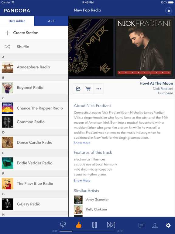 Pandora - Free Music & Radio screenshot