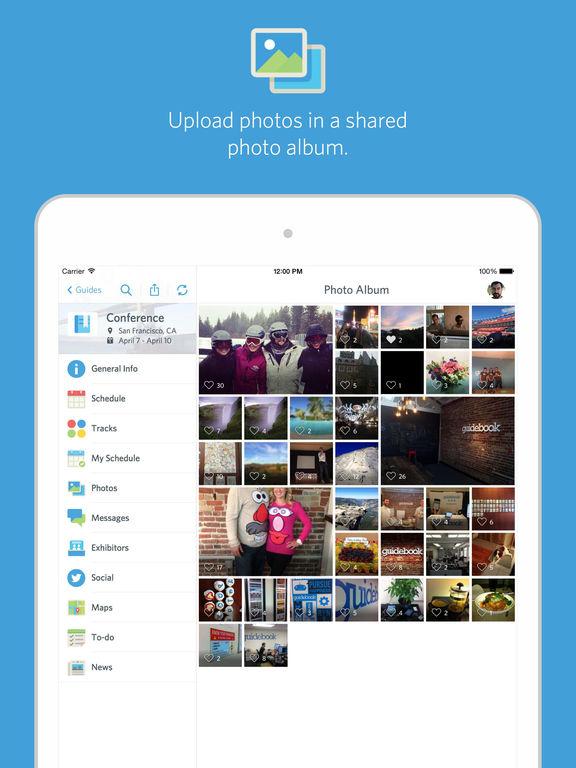guidebook mobile event app