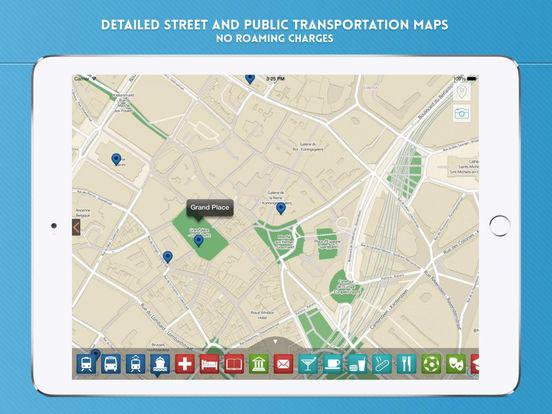 Brussels Travel Guide iPad Screenshot 4