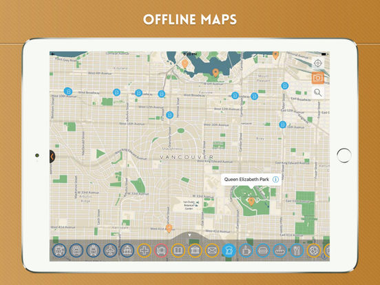Vancouver City Travel Guide iPad Screenshot 5