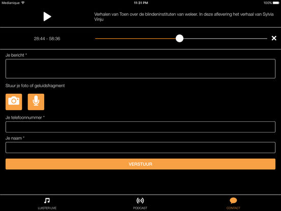 Radio509 iPad Screenshot 3