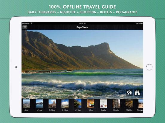Cape Town Travel Guide iPad Screenshot 1