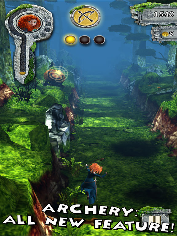 Screenshot #1 for Temple Run: Brave