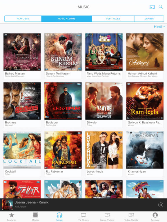 Eros Now — Bollywood and Indian Movies, TV & Music Screenshots