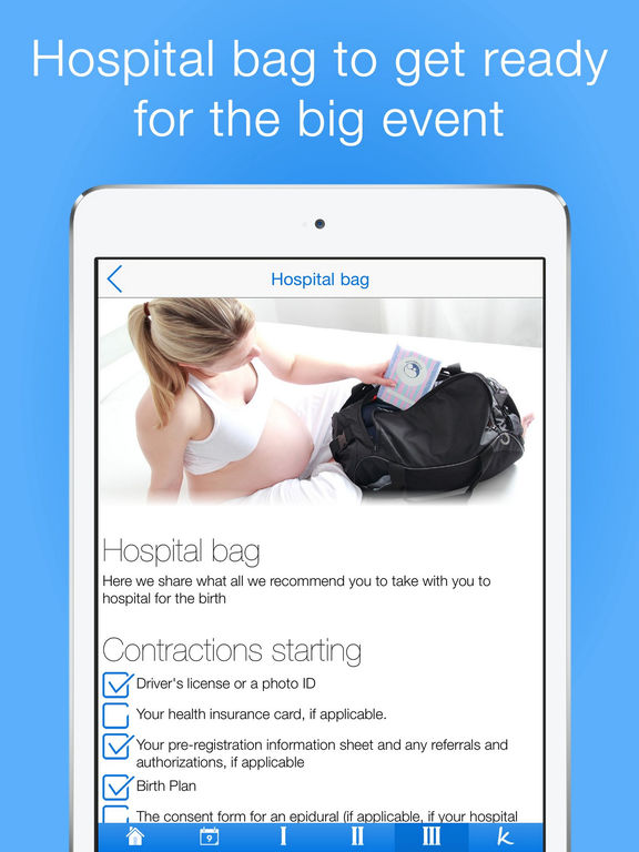 Pregnancy Checklists PRO | Your Guide to a Healthy Pregnancy Screenshots