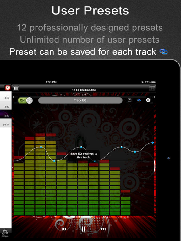 Equalizer Pro - FLAC, OGG, MP3 Player with Best EQ Screenshots