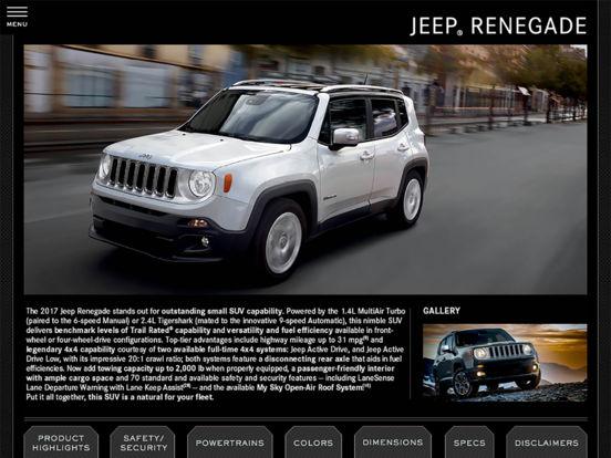 2011 Chrysler Group Fleet iPad Screenshot 5