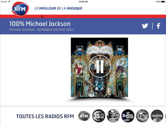 RFM : le meilleur de la musique iPad Screenshot 2