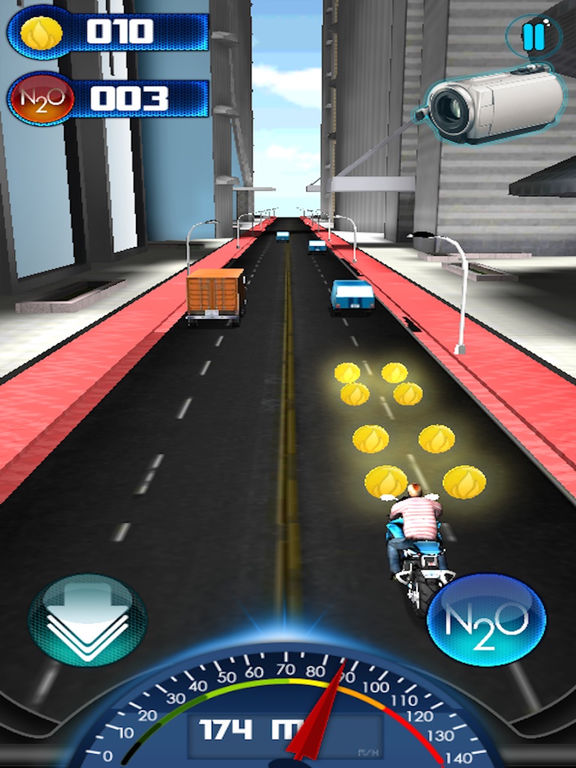 Motocycle Racing Game Screenshots