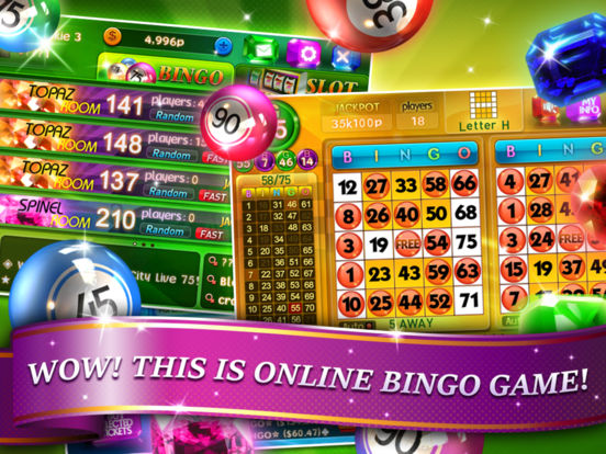 Bingo City Live 75 iPad Screenshot 1