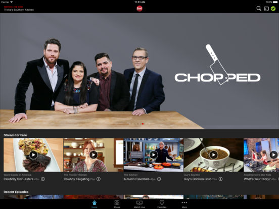 Watch Food Network screenshot