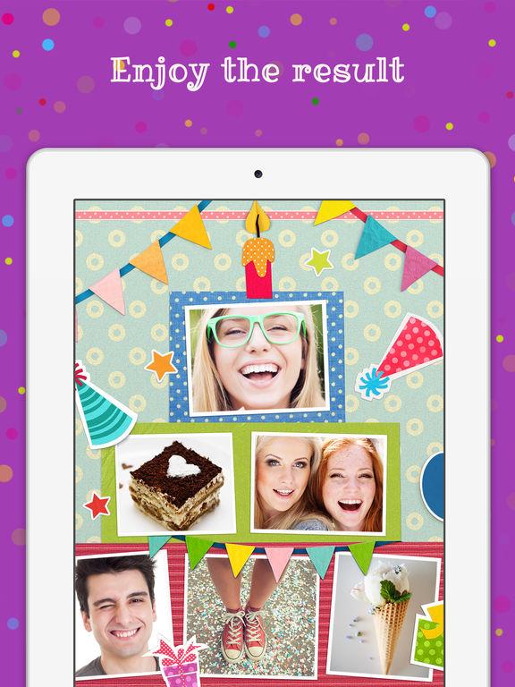 App Shopper Birthday Cards Free Happy Birthday Photo Frame Gift