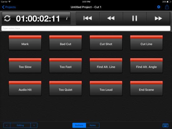 Cut Notes iPad Screenshot 1