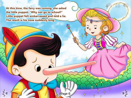 iBigToy-Pinocchio's Daring Journey HD Lite iPad Screenshot 2