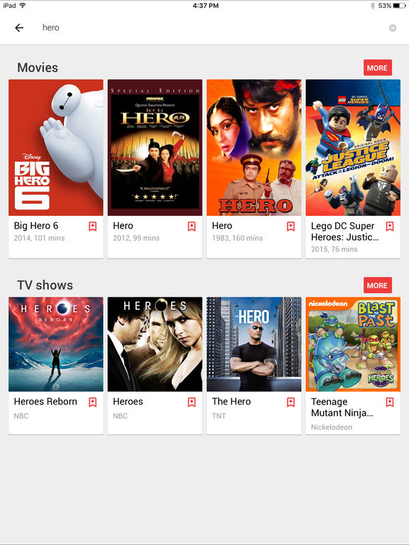 how to play google play movies on ipad