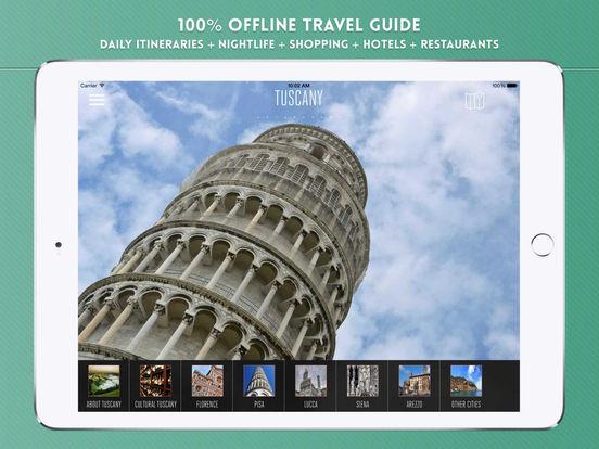 Travel Florence iPad Screenshot 1