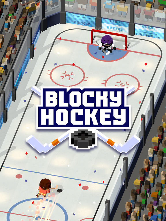 Full Fat releases Blocky Hockey - Arcade Ice Runner for iOS and Android Image