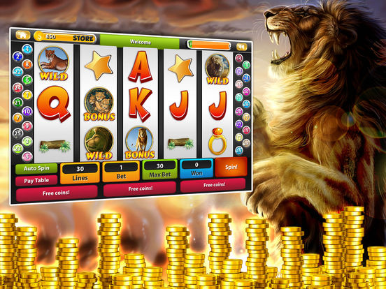 Safari Golden King Lion & Way Tiger Slotsscreeshot 2