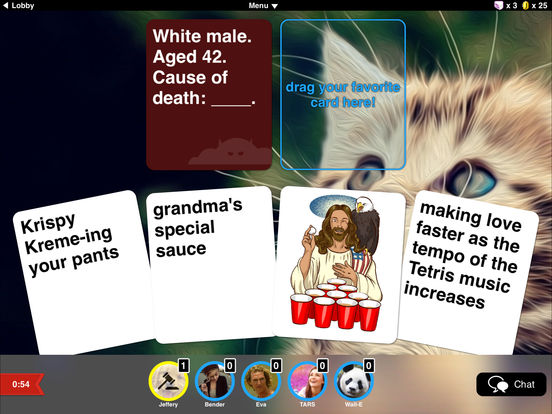Evil Apples: A Filthy Adult Card & Party Game screenshot