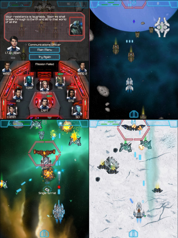 The Last Squadron - Battle for the Solar System Screenshots