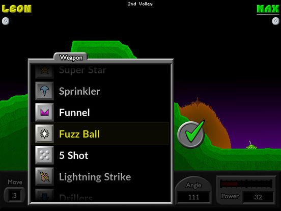 Pocket Tanks Deluxe iPad Screenshot 2