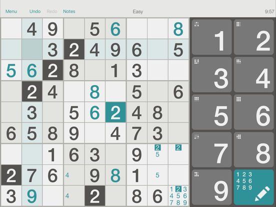 @SUDOKU iPad Screenshot 1