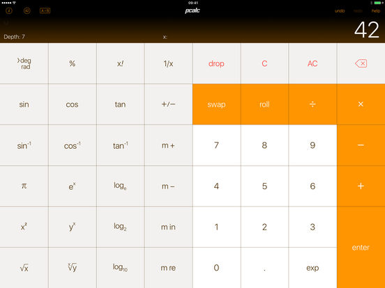 PCalc Lite - The Best Free Calculator screenshot