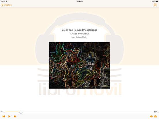 Greek and Roman Ghost Stories - AudioBook iPad Screenshot 2