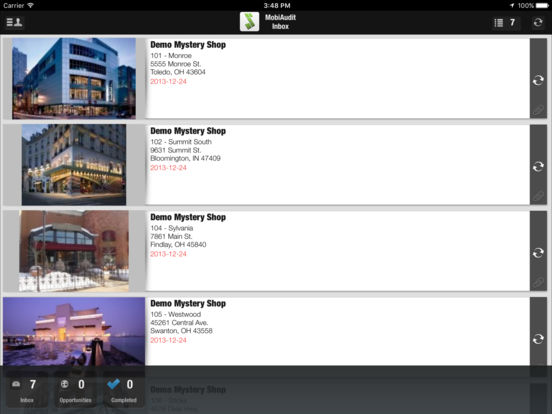 MobiAudit iPad Screenshot 1