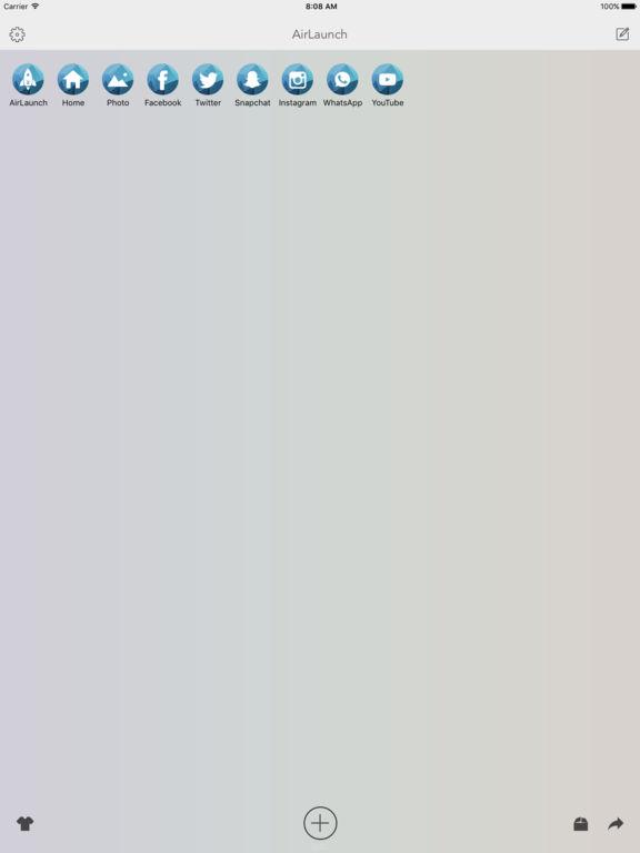 AirLaunch Pro - Launcher on Today Widget Screenshots