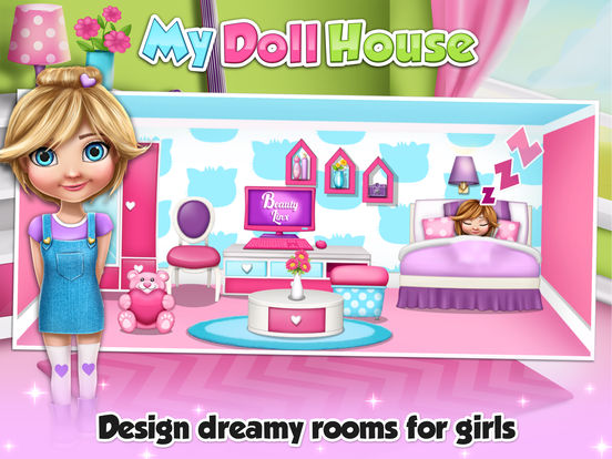 App Shopper My Doll House Decoration Game S Design And Create Your Virtual Dream Home For Baby